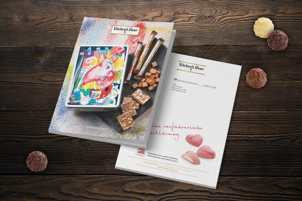 Katalogmailing Läckerli Huus